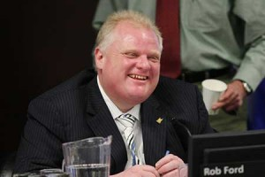 Betting on Mayor Rob Ford
