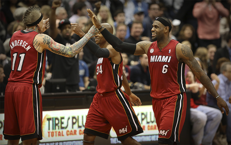 Miami Heat Dominate USA Today NBA Power Rankings
