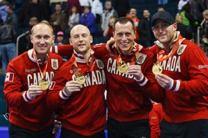 Canada Curling Team Squeezes Past Germany in Olympic Opener