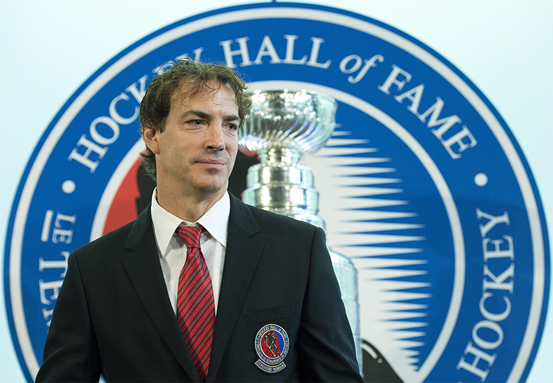 Joe Sakic Headlines Sports Hall of Fame Inductees